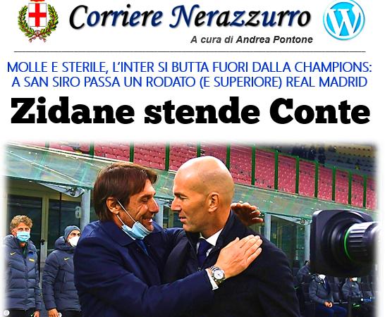 Corriere Nerazzurro – Edizione 26/11/2020 (Inter 0-2 Real Madrid)